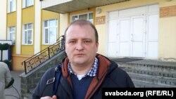 Юрыст Беларускай асацыяцыі журналістаў Алег Агееў