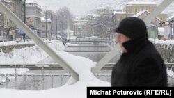 Sarajevo pod snijegom, februar 2012.