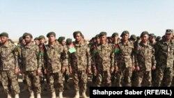 سربازان آموزش دیده در قول اردوی ۲۰۷ ظفر