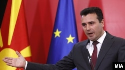 Македонский премьер Зоран Заев