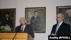Марсель Әхмәтҗанов, Хатыйп Миңнегулов