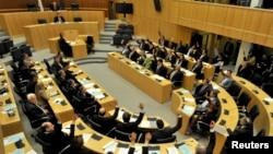 Заседание парламента Кипра в Никосии (архив)