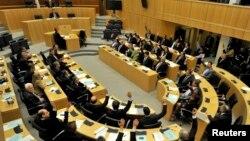 У залі засідань парламенту Кіпру, архівне фото