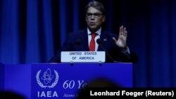 وزیر انرژی آمریکا در کنفرانس سالانه آژانس تأکید کرد که «ما توافقی را که نتیجه آن بازرسی و کنترل نامناسب باشد، نمیپذیریم».