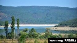 Чорноріченське водосховище, кінець липня 2020 року