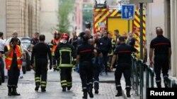 На месте взрыва 24 мая в Лионе пострадали восемь человек