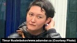 Гражданская активистка Асия Тулесова. Архивное фото.