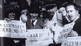 Alfred Cortot într-o fotografie de la sfîrșitul Primului Război Mondial (Sursa: colecția Jean Cortot)
