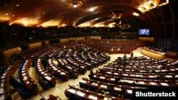 Зал заседаний Парламентской ассамблеи Совета Европы в Страсбурге