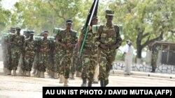 یک گروه از یگان ویژه کوماندوهای سومالی