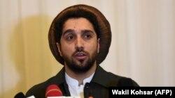 Ахмад Масуд, син на почитуваниот воен и политички авганистански лидер Ахмад Шах Масуд, Кабул, 27 февруари 2020 година