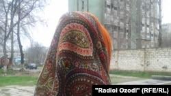 Рафоат, зани танфурӯше аз Душанбе