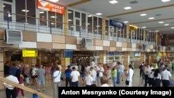 Зал симферопольского аэропорта
