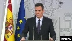 Претседателот наВладта на Шпанија Педро Санчез