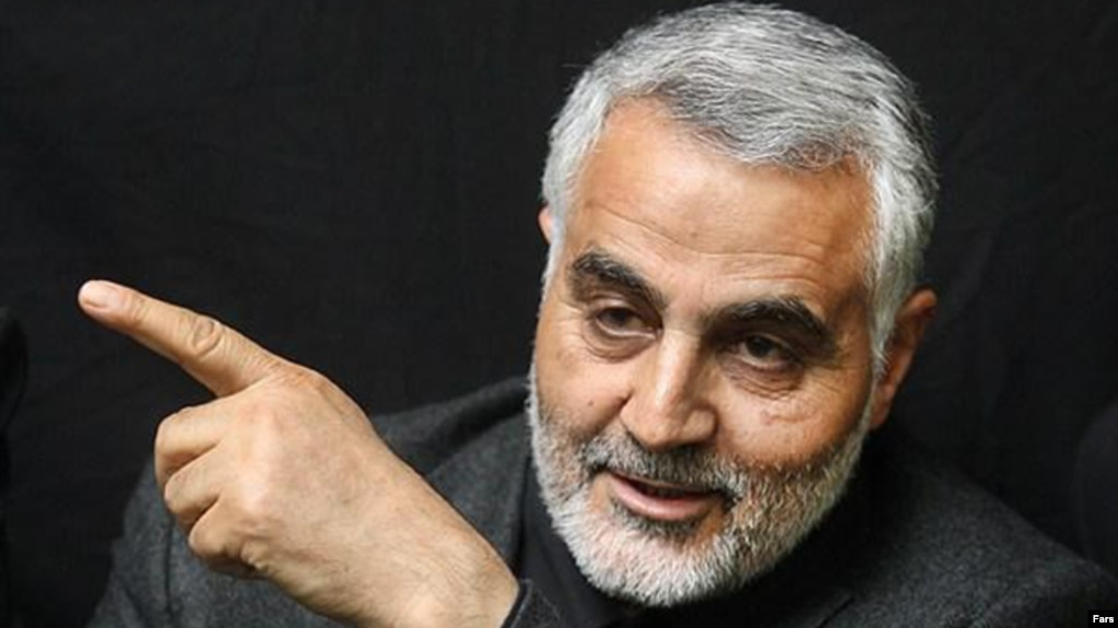 Iran -- Ghasem Soleimani, commander of qods force - Revolutionary Guard