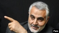 Qasem Soleimani, commander of qods force - Revolutionary Guard