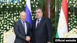 د تاجکستان او روس ولسمشران