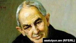 Ս․ Սկոբցովի հեղինակած Ակիմ Ավանեսովի դիմանկարը: