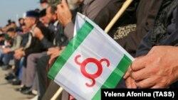 Протест в Магасе, архивное фото