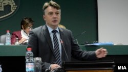 Градоначалникот на Град Скопје Петре Шилегов