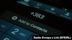 Kodi telefonik i Kosovës