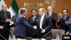 """Подписание соглашения между Ираном и """"Боингом"""""""