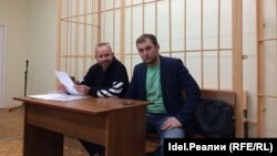 Дмитрий Тетерин (слева). Архивное фото