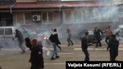 Беспорядки в Приштине, 9 января 2015 года