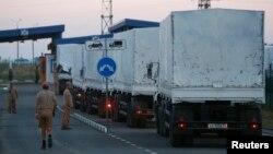 «Гуманітарний конвой» Росії, серпень