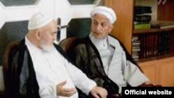 آيت الله حسينعلی منتظری و آيت الله يوسف صانعی