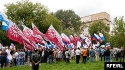 Митинг оппозиции закончился задержанием его участников