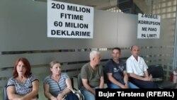 Štrajk zaposlenih u Telekomu i Pošti Kosova 2019. godine, arhivska fotografija