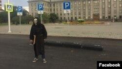 Акция у здания правительства Иркутской области