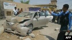 تفجير سيارة في كركوك