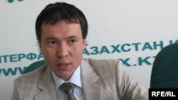 Бывший председатель правления Альянс банка Жомарт Ертаев.