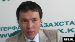 """""""Альянс банктің"""" бұрынғы басқарма төрағасы Жомарт Ертаев."""