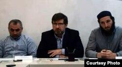 Къебедов ГIаббас (вакьулъ) пресс-конференциялда