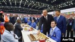 Bakıda keçirilən 42-ci Dünya Şahmat Olimpiadası. 02 Sent. 2016