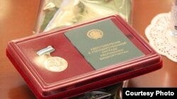 Ана даны медале (Башинформ фотосы)