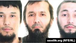 На фото (слева направо): Бахтиер Умаров, Атабек Абдуллаев и Давид Идриссон.