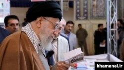 Высший руководитель Ирана Али Хаменеи