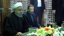 Iranian president Hassan Rouhani. File photo
