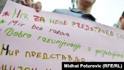 Na jednom od skupova na Međunarodni dan mira u Sarajevu