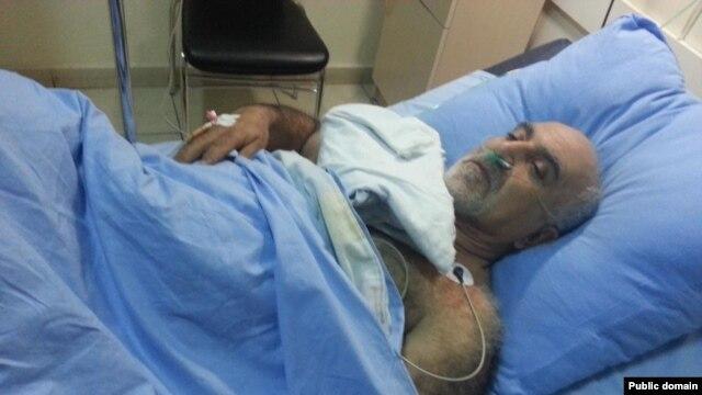 Պարույր Հայրիկյանը հիվանդանոցում՝ հրազենային վիրավորում ստանալուց հետո, Երեւան, 1-ը փետրվարի, 2013թ․ Լուսանկարը՝ Հայրիկյանի պաշտոնական ֆեյսբուքյան էջից