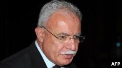 Палестинскиот министер за надворешни работи Ријад Малки.