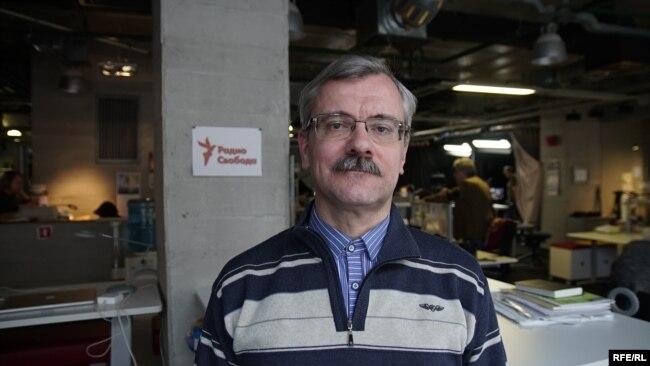 Алексей Тепляков в студии Радио Свобода