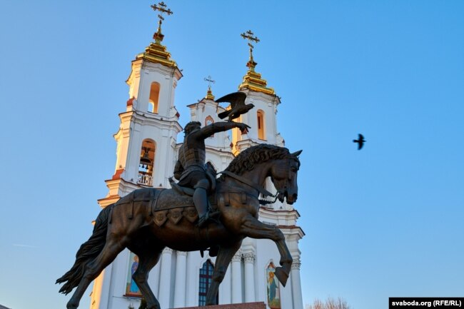 Помнік князю Альгерду ў Віцебску