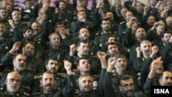 An elite branch of Iran's Revolutionary Guard was criticized in the report