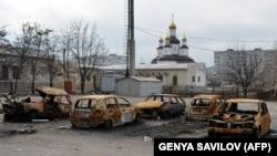 24 січня 2015 року підтримувані Росієюбойовики обстрілялиз ракетних систем залпового вогню «Град» східні околиці Маріуполя