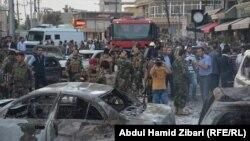 На місці одного з недавніх нападів смертника в Іраку